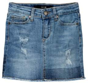 Joe's Jeans Mid Rise Stretch Denim Mini Skirt (Big Girls)