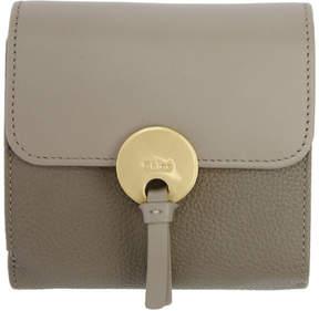 Chloé Grey Square Indy Wallet