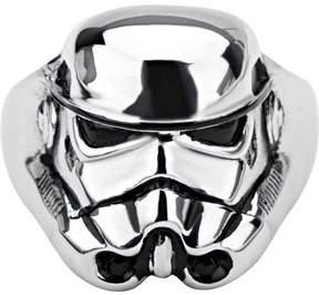 Star Wars Men's Stainless Steel 3D Storm Trooper Ring