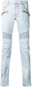 Balmain slim-fit biker jeans