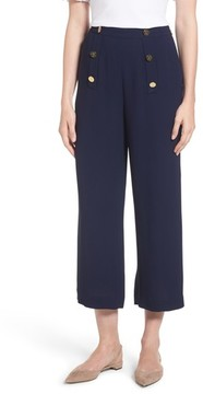 Draper James Women's Crop Sailor Pants