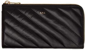 A.P.C. Black Lise Wallet