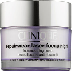Clinique Repairwear Laser Focus Night Line Smoothing Cream for Very Dry to Dry Combination Skin