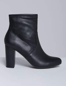 Lane Bryant Stretch Ankle Boot