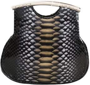 Hayward Multicolour Python Clutch Bag