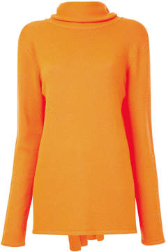 Dion Lee wrap scarf collar jumper