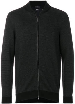 HUGO BOSS zip up bomber jacket