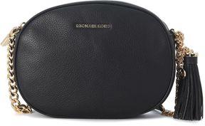 Michael Kors Ginny Black Leather Bag - NERO - STYLE