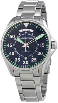 Hamilton Khaki Aviation Pilot Day Date Auto Blue Dial Men's Watch