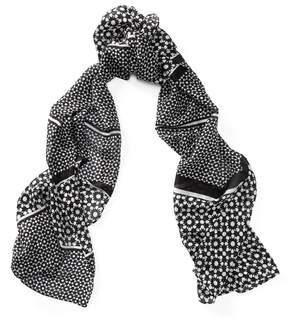 Ralph Lauren Patterned Silk Scarf