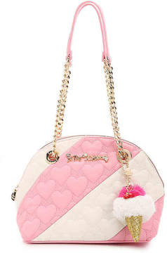 Betsey Johnson Split Decision Dome Satchel - Women's