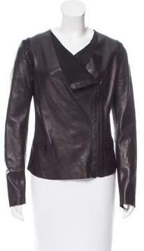 Barbara Bui Lightweight Leather Jacket