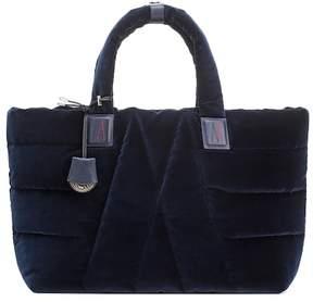 Moncler Powder velvet shoulder bag