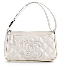 Chanel Pre-owned: Vintage Timeless Cc Adjustable Shoulder Bag Quilted Caviar Small.