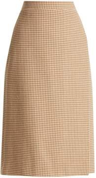 Balenciaga Wrap slit skirt