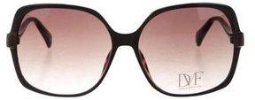 Diane von Furstenberg Jazmine Oversize Sunglasses