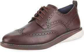 Cole Haan Men's Grand Evolution Leather Sneaker, Brown