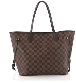 Louis Vuitton Pre-owned: Neverfull Nm Tote Damier Mm.