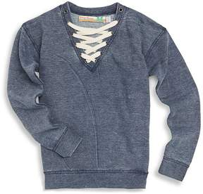 Vintage Havana Girl's Lace-Up Sweatshirt