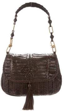 Anya Hindmarch Woven Leather Shoulder Bag
