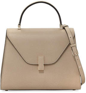 Valextra Iside Medium Leather Top-Handle Bag