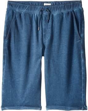 Hudson Pigment Dye Pull-On Shorts in Malibu Blue (Big Kids)
