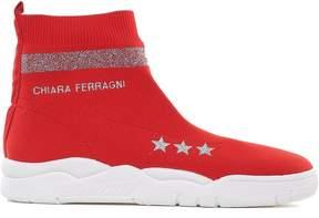 Chiara Ferragni Stretch-knit Sock Sneakers