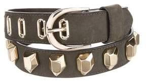 Diane von Furstenberg Suede Studded Belt