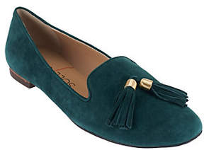 Sole Society As Is Suede Smoking Slipper with Tassels - Ceara