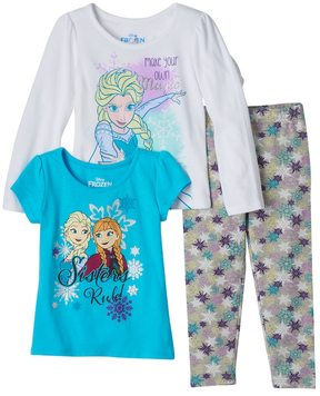 Disney Disney's Frozen Anna & Elsa Toddler Girl Long Sleeve Tee