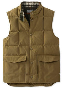 L.L. Bean Signature Quilted Vest, Wool-Lined