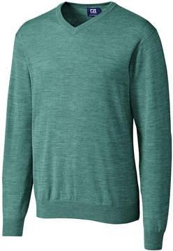 Cutter & Buck Teal Douglas V-Neck Sweater - Men