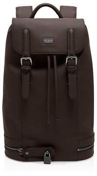 Ted Baker Sadsac Rubberized Leather Backpack