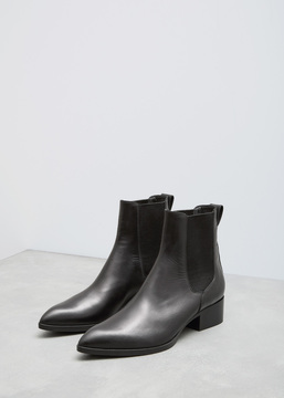Dries Van Noten Black Chelsea Boot