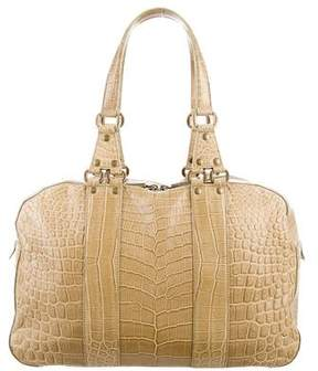 Donna Karan Crocodile Handle Bag