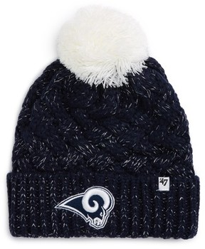 '47 Women's Fiona Los Angeles Rams Pom Beanie - Blue