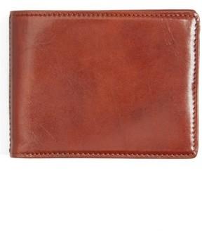 Bosca Men's Leather Wallet - Brown