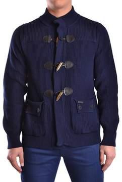 Bark Men's Blue Cotton Sweatshirt.