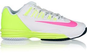 Nike Lunar Ballistec 1.5 Faux Leather And Mesh Sneakers