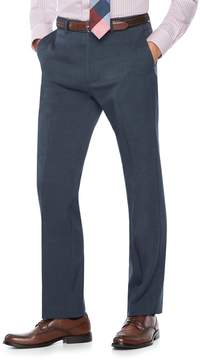 Chaps Men's Classic-Fit Performance Flat-Front Dress Pants
