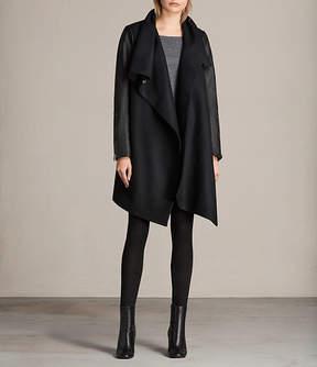 AllSaints Milla Lea Coat