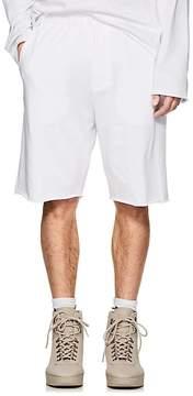 Helmut Lang Men's Logo Cotton Jersey Shorts