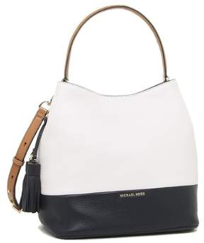 Michael Kors Kip Large Leather Bucket Bag - Opt/Admiral - 30H6GK8M3T-765 - MULTICOLOR - STYLE