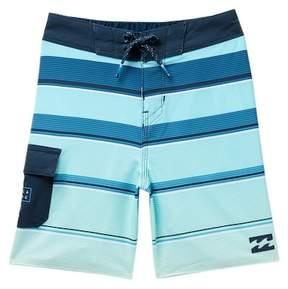 Billabong All Day X Stripe Board Shorts (Toddler & Little Boys)
