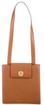 Bvlgari Grained Leather Shoulder Bag