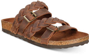 White Mountain Holland Braided Footbed Slip-on Sandals Women's Shoes