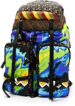 Prada Nylon Patch Backpack