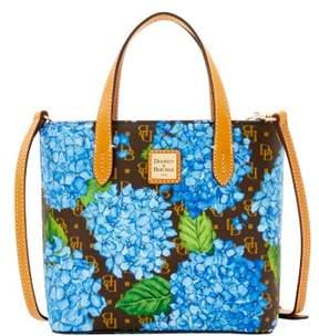 Dooney & Bourke Signature Hydrangea Mini Waverly Top Handle Bag - SKY BLUE - STYLE