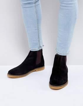 Base London Ferdinand Suede Chelsea Boots
