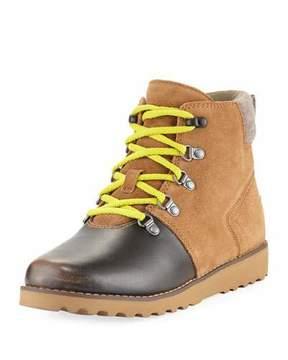 UGG Girls' Hilmar Waterproof Suede Boot, Youth